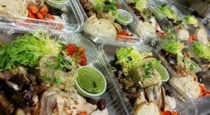 boxed lunch by Happy Day Catering