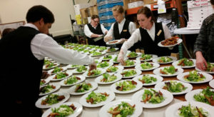 Behind the scenes of a Happy Day Catering Event