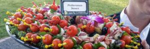 Mediterranean Skewers by Happy Day Catering