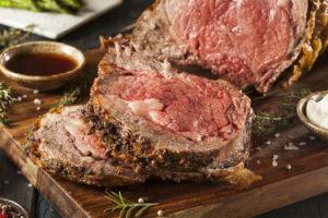 prime rib thanksgiving entree