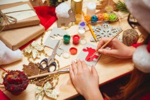 Christmas Card Making Holiday Party Activity