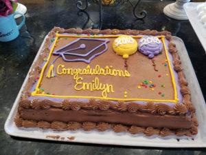 Buttercream Graduation Cake