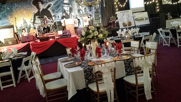 Table Setting At Corporate event