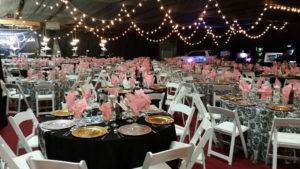 String Lights Rentals at Corporate Events